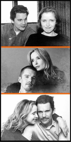 Before Sunrise-Before Sunset-Before Midnight, Ethan Hawke & Julie Delpy