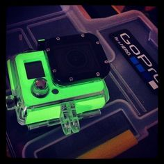 Glow in Dark GoPro Wraps from SlickWraps via Instagram /// Craig Durkee