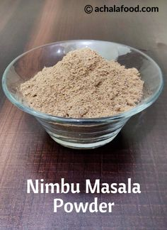 Nimbu Masala powder recipe with step by step photos and video recipe – is a special masala mix powder which is used to prepare a lemon drink called masala soda. Masala Powder Recipe, Masala Recipe, Homemade Spices, Homemade Seasonings, Homemade Curry, Other Recipes, My Recipes, Cooking Recipes, Alcohol Recipes