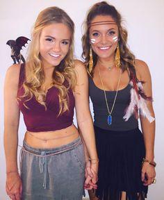 Khaleesi and Pocahontas costume