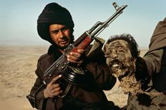 Mujahideen Fighters during/after Soviet Invasion of Afghanistan.