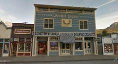 "Skagway, Alaska /  59°27'20.75""N135°18'52.10""W (Google Earth Street View)"