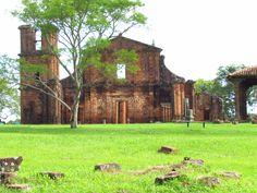 Ruínas de São Miguel das Missões/RS Missões Jesuítas