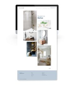 Web bocetA2: proyectos de baño | la otra creativa Multimedia, Shopping, Geometric Fashion, Studio Apartment Design, Design Logos, Creativity, Interiors, Blue Prints