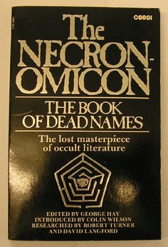http://www.amazon.com/The-Necronomicon-George-Hay-editor/dp/0552980935  $ 20.00.