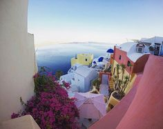 Santorini Photography Island Fine Art Canvas by S4StarSbySiSSy