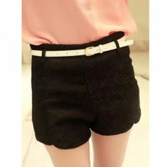 $5.20 Cute Embroidery Figure Print Short Pants For Women