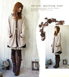 Mori Girl outfit - cute for Autumn!