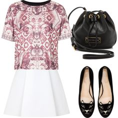 """Untitled #261"" by style-by-gabriella on Polyvore"