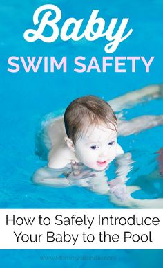 Is your baby learning to swim this summer? Get your baby comfortable in the water! Read our swim tips to safely introduce your child to the pool! Teach Baby To Swim, Learn To Swim, Baby Swimming Lessons, Swim Lessons, Teaching Babies, Baby Learning, Fun Water Games, Waves On The Beach, Best Baby Toys