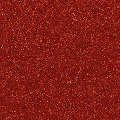 Coupon de tissu pailleté à coudre ou à coller 70x45 cm Rouge