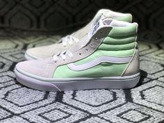 6693863ddfe9 Vans SK8-Hi 38 DX Grey Mint Green Skate Shoe For Sale  Vans
