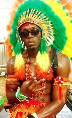 Usain Bolt in Trinidad Carnival