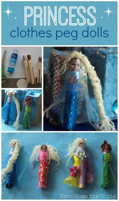Princess Peg Dolls - Here Come the Girls