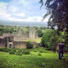 Medieval ruins at Kells Priory, Co Kilkenny, Ireland