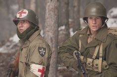 Company of Heroes Dale Dye, Matthew Settle, Ron Livingston, Company Of Heroes, Damian Lewis, Donnie Wahlberg, Band Of Brothers, Tv Times, United States Army