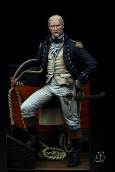 British Royal Navy Officer - Virtual Museum of Historical Miniatures Liverpool Tattoo, Royal Navy Officer, Waterloo 1815, Naval History, Military Figures, Virtual Museum, Navy Ships, Napoleonic Wars, American Revolution
