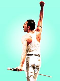 Freddie Mercury// this is a really good picture