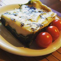 Lasagne ze szpinakiem  Kochamy szpinak  Też lubicie? Macie jakieś fajne przepisy  których go wykorzystujecie? #szpinak #spinach #lasagne #pasta #tomato #pomidor #cherry #food #cheese #softcheese #camembert #naturek #turek #barilla #gouda #recipe #przepis #dinner #obiad #dieta #kakaludek #poznań #polska #poland
