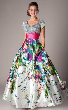 Modest Prom Dresses : Petra