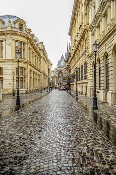 Old City, Bucharest,  Romania