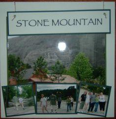 Stone Mountain - Scrapbook.com