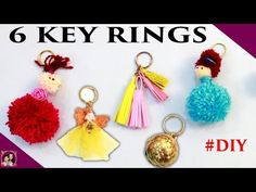 aayu and pihu craft show - YouTube Home Crafts, Easy Crafts, Christmas Baking, Key Rings, Paper Flowers, Fun, Craft Ideas, Youtube, Key Fobs