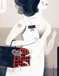 SENS Magazine by Agata Dudek, via Behance