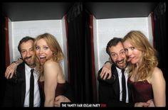 Love Leslie Mann's nails (at Vanity Fair Oscar party)