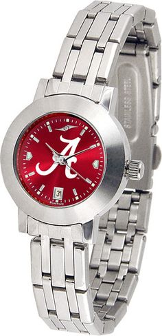Alabama Crimson Tide Womens Dynasty Anochrome Watch