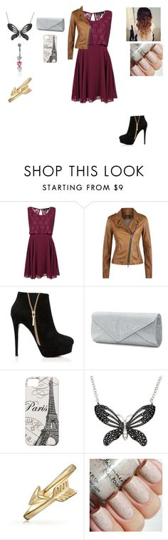 """Sans titre #1232"" by harrystylesandliampayne ❤ liked on Polyvore featuring Boohoo, SET, Forever New, Mascara, Sterling Essentials and Bling Jewelry"