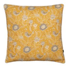 Sparrow Scatter Cushion Ochre | Volpes