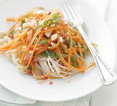 Thai carrot salad 192 calories