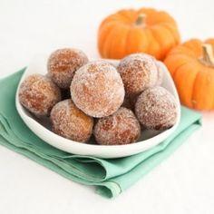 Pumpkin Doughnut Holes