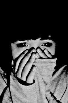 . Black Image, Feeling Sad, Point Of View, Darkness, Portraits, Hands, Smile, Illustration, Face