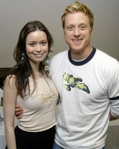 Summer Glau and Alan Tudyk Firefly Tv Series, Firefly Art, Firefly Serenity, Morena Baccarin Firefly, Best Television Series, Theater, Vintage Photo Booths, Star Trek Original Series, Sci Fi Tv Shows