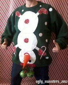 Ugly sweater....WINNER!!!