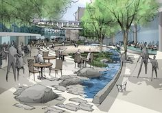 ATELIER DREISEITL • PORTFOLIO | Environmental Technology | Seattle Civic Square
