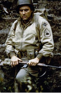 "Sgt. Michael ""Mike"" Horvath (Tom Sizemore) - Saving Private Ryan"