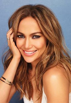J Lo - awesome hair