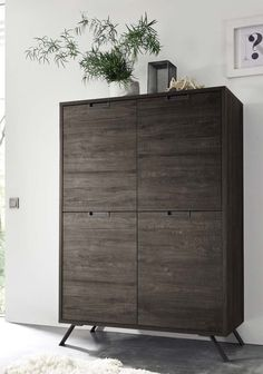 Mercury Row Kolar Highboard In 2019 Products Tall Cabinet