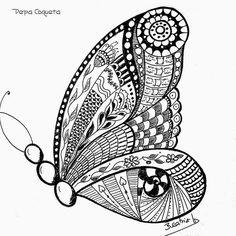 Invitaciones y recordatorios para Comuniones y Bodas. Talleres de manualidades. Ilustraciones y Diseño Gráfico. Álbumes personalizados. Doodle Art Drawing, Zentangle Drawings, Cool Art Drawings, Zentangle Patterns, Doodles Zentangles, Mandala Art, Mandala Drawing, Doodle Art Designs, Mehndi Art Designs
