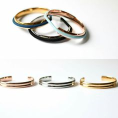 PLEASE READ SHIPPING TIME FRAMES AT THE BOTTOM:Grab one of these alloy Hair tie holder bangles. These are not stainless steel but they are beautiful!Carry a hair elastic on your wrist in a way that's elegant AND keeps your wrist indent-free. These bracelets are made of alloy with a shiny metallic finish, and they cleverly hold—and disguise—hair elastics. Slip the bracelet on, then slip your elastic over, and secure it in the groove. You'll be ready to toss your hair back at a moment's…