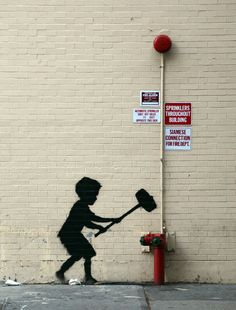 20 de outubro | Nova York - Upper West Side: Banksy (Better out than in)