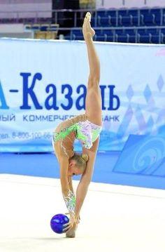 Rhythmic gymnastics.