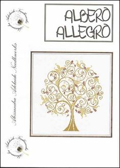 Albero Allegro - Cross Stitch Pattern
