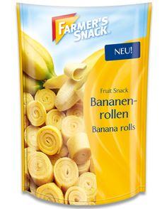 Packung Farmer's Snack Bananenrollen