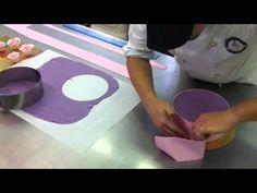 ▶ TUTORIAL 4# Decorazione di una torta by Dolce Favola - YouTube