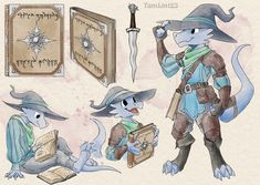 """TamLin123 on Twitter: """"Takde, kobold Wizard/Rogue for @TheVaporite Thank you for commissioning me! #kobold #dnd… """" Fantasy Character Design, Character Design Inspiration, Character Concept, Character Art, Character Ideas, Concept Art, Dungeons And Dragons Characters, Dnd Characters, Fantasy Characters"""