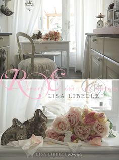 LISA LIBELLE (alt) white dreaming & inspirations: Romantische Ostern in Weiss & Rosa - chic & Shabby by LISA LIBELLE